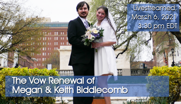 The Vow Renewal of Megan & Keith Biddlecomb