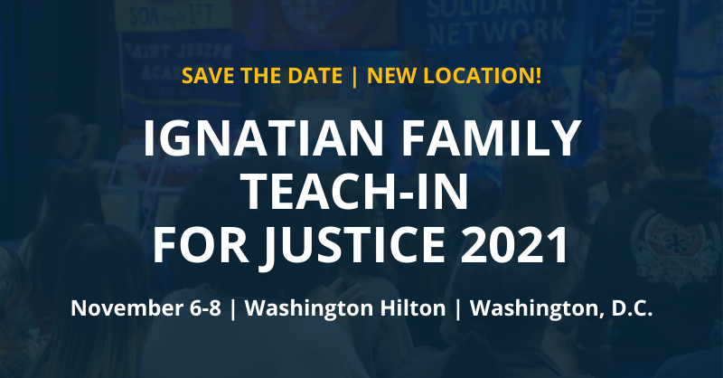 Ignatian Family Teach in for Justice 2021